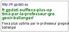 http://fr.gpdati.eu/flexa-plus-optima-par-le-professeur-gregeoir-ballanger/